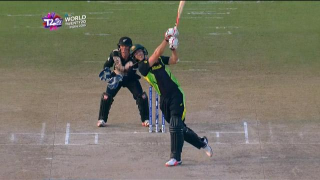 Cricket Highlights from Australia Innings v New Zealand ICC WT20 2016