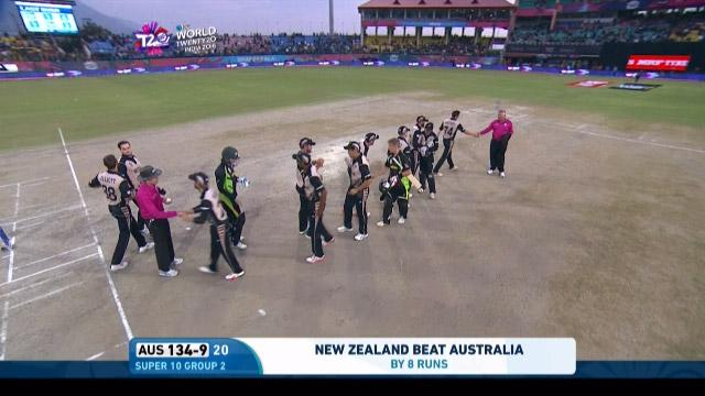 Match highlights – AUS v NZ