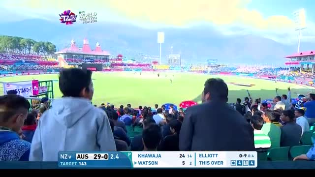 Australia Innings Super Shots v NZ ICC WT20 2016
