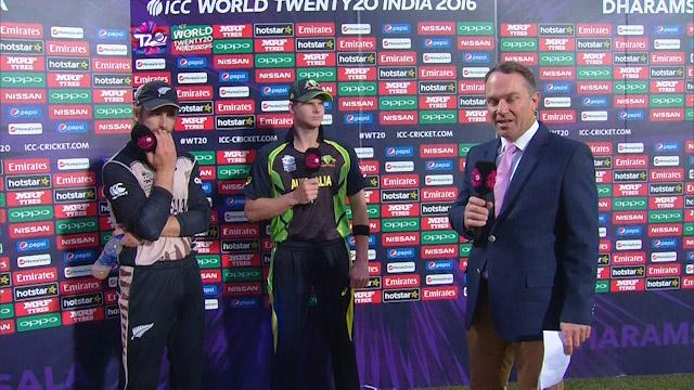 Match Presentation for AUS V NZ Match 17 ICC WT20 2016