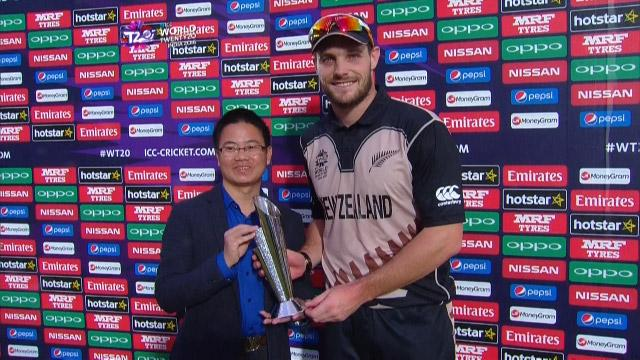 Player of the Match – Mitchell McClenaghan – AUS v NZ