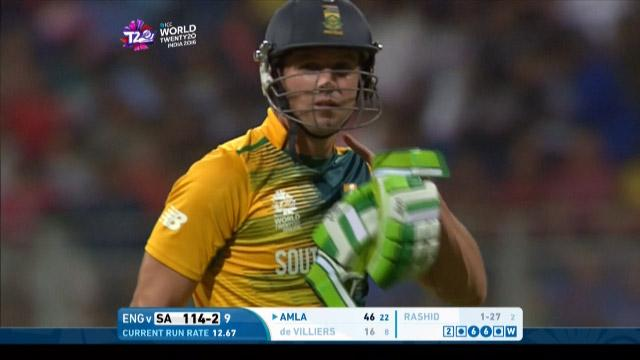 AB de Villiers Wicket Fall SA V ENG Video ICC WT20 2016