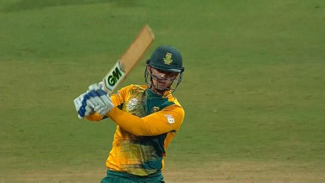 South Africa Innings Super Shots v ENG ICC WT20 2016
