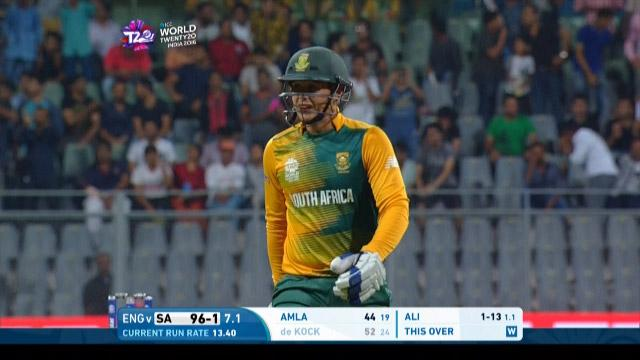 South Africa Innings Wickets – SA v ENG
