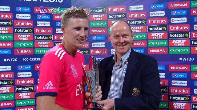Player of the Match – Joe Root – SA v ENG