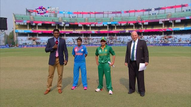 Pakistan wins Toss against India Match 7 ICC Womens WT20 2016