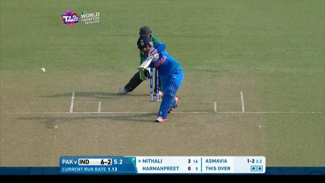Cricket Highlights from India Innings v Pakistan ICC Womens WT20 2016