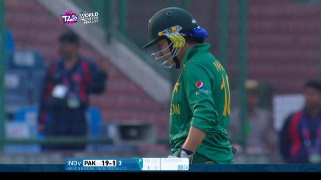 Nahida Khan Wicket Fall IND V PAK Video ICC Womens WT20 2016