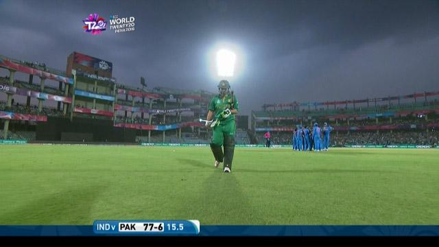 Sana Mir Wicket Fall IND V PAK Video ICC Womens WT20 2016