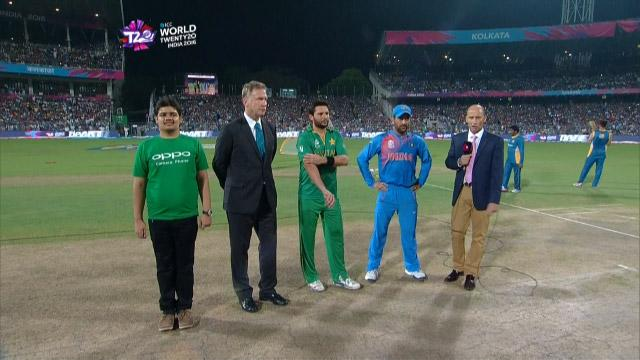 India wins Toss against Pakistan Match 19 ICC WT20 2016
