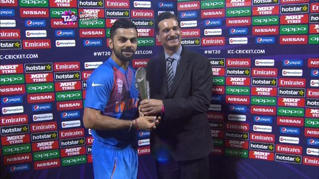 Player of the Match –Virat Kohli – IND v PAK