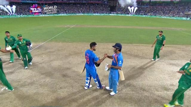 Match highlights – IND v PAK