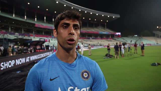 Ashish Nehra talks about crowd at Eden Gardens