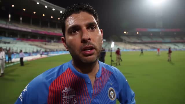 Yuvraj Singh after India's win over Pakistan