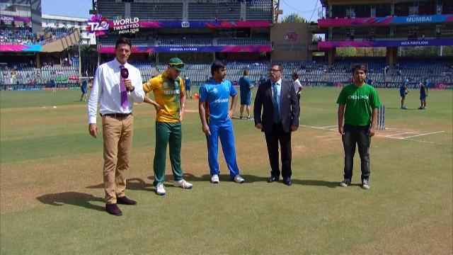 South Africa wins Toss against Afghanistan Match 20 ICC WT20 2016