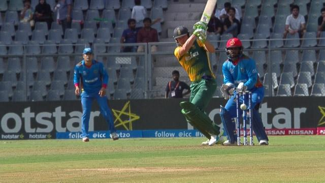 South Africa Innings Super Shots v AFG ICC WT20 2016