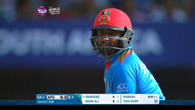 Mohammad Shahzad Innings for Afghanistan V South Africa Video ICC WT20 2016