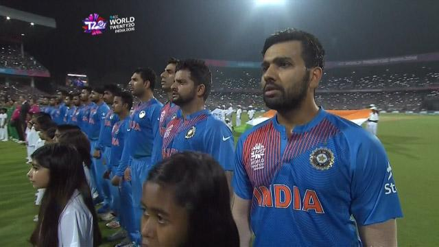 India National Anthem in Kolkata for #INDvPAK