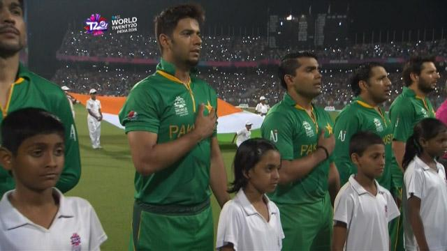 Pakistan National Anthem in Kolkata for #INDvPAK