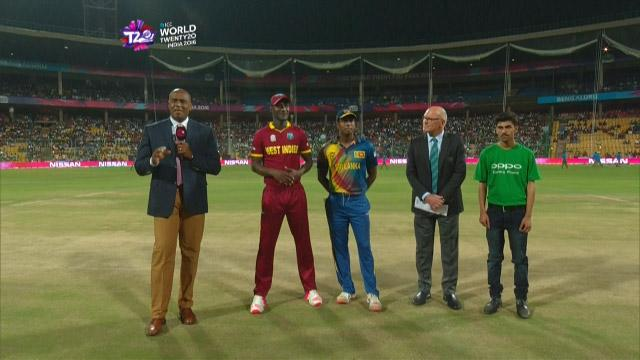 West Indies wins Toss against Sri Lanka Match 21 ICC WT20 2016