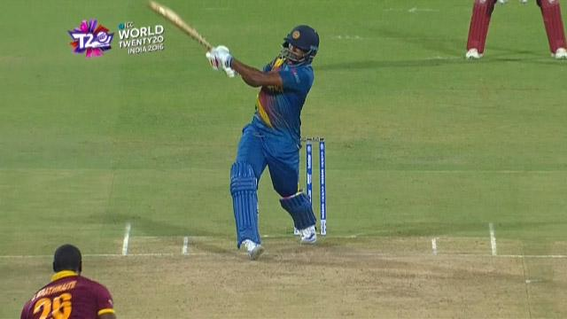 Cricket Highlights from Sri Lanka Innings v West Indies ICC WT20 2016