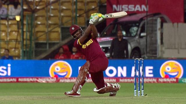 West Indies Innings Super Shots v SL ICC WT20 2016