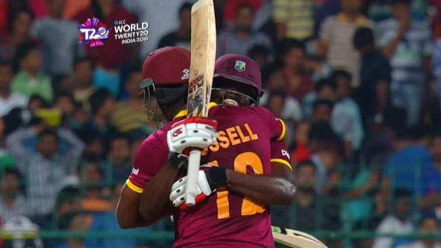 Cricket Highlights from West Indies Innings v Sri Lanka ICC WT20 2016