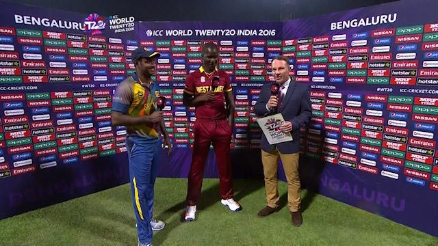 Match Presentation for SL V WI Match 21 ICC WT20 2016