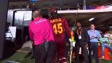 Ian Gould and Chris Gayle have some fun at West Indies v Sri Lanka - T20 Videos