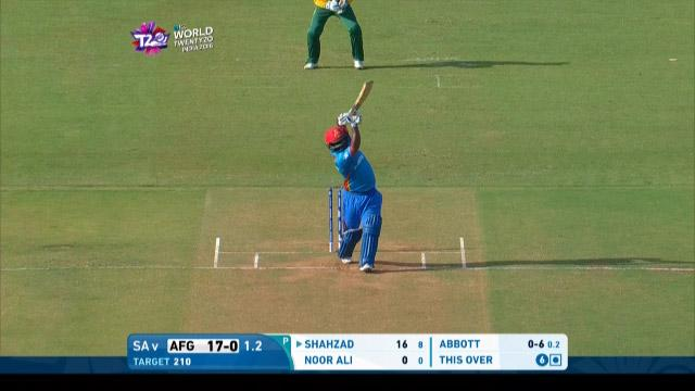 Shahzad holds the pose for gigantic Six