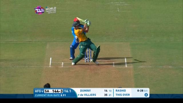 De Villiers hits highest amount off single over at #WT20 2016