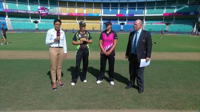 Australia wins Toss against New Zealand Match 10 ICC Womens WT20 2016