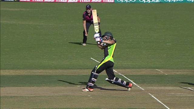 Ellyse Perry hits a massive 6