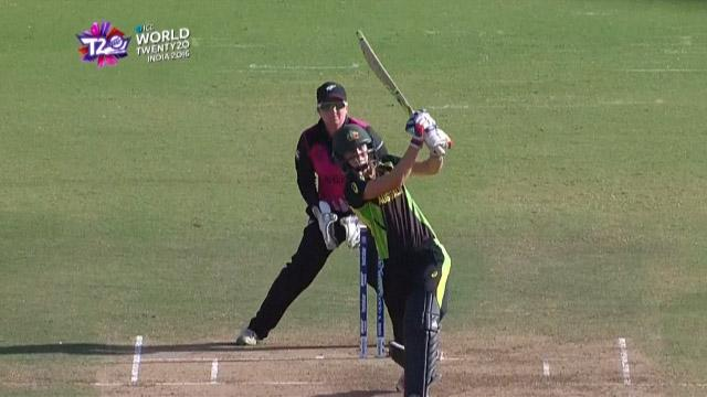 Cricket Highlights from Australia Innings v New Zealand ICC Womens WT20 2016