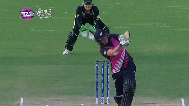 Cricket Highlights from New Zealand Innings v Australia ICC Womens WT20 2016