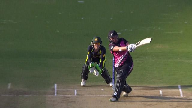 New Zealand Innings Super Shots v AUS ICC Womens WT20 2016