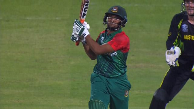 Bangladesh Innings Super Shots v AUS ICC WT20 2016