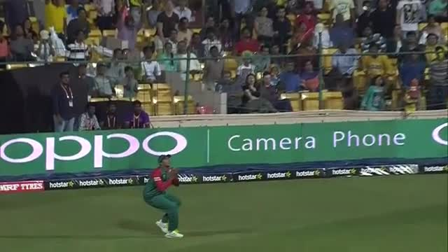 John Hastings  Wicket Fall AUS V BAN Video ICC WT20 2016