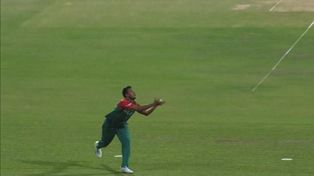 Mustafizur's brilliant slower ball