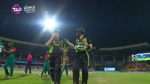 Match highlights – AUS v BAN