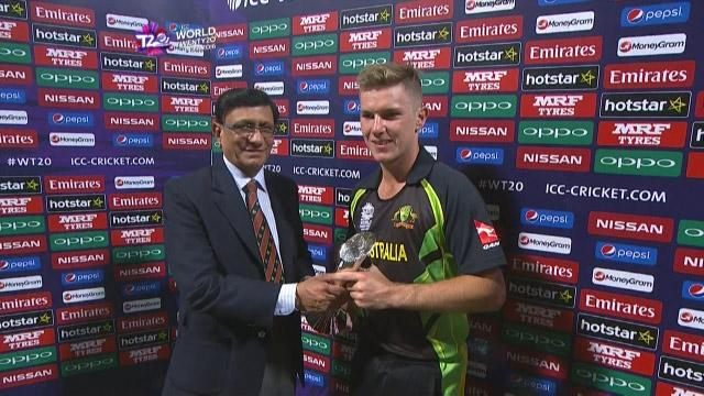 Player of the Match – Adam Zampa – AUS v BAN