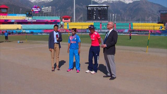 England wins Toss against India Match 11 ICC Womens WT20 2016