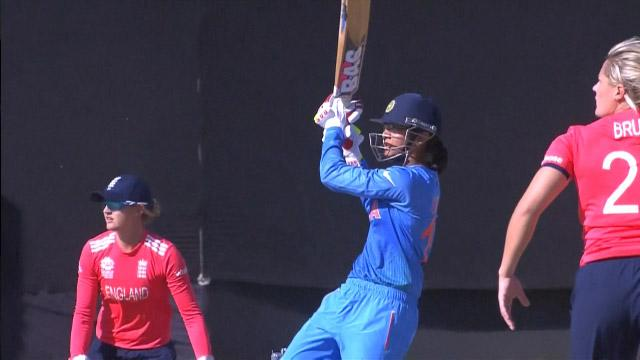 India Innings Super Shots v ENG ICC Womens WT20 2016