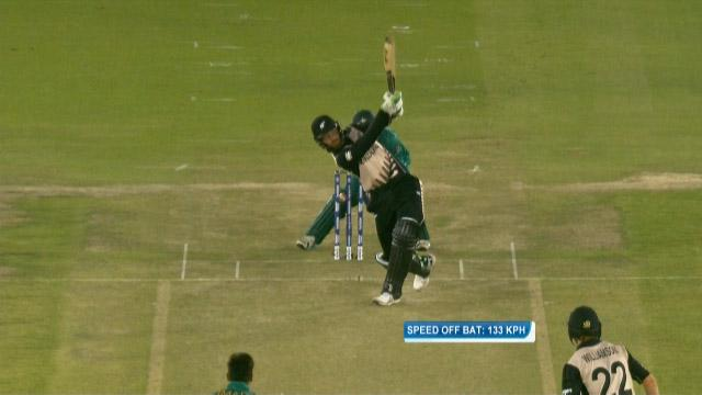 Guptill's gigantic hit!