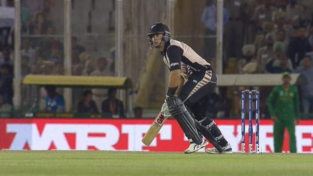 Ross Taylor Match Hero for New Zealand v PAK ICC WT20 2016