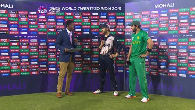 Match Presentation for NZ V PAK Match 23 ICC WT20 2016