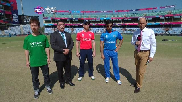 England wins Toss against Afghanistan Match 24 ICC WT20 2016
