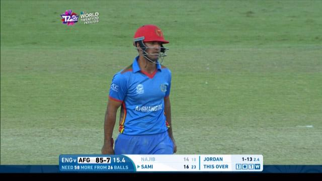 Najibullah Zadran Wicket Fall ENG V AFG Video ICC WT20 2016