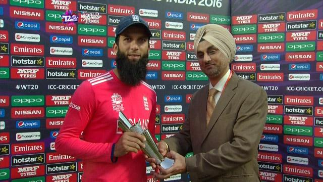 Player of the Match – Moeen Ali – ENG v AFG