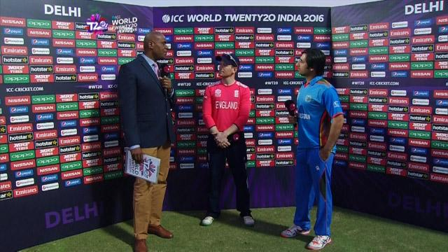Match Presentation for ENG V AFG Match 24 ICC WT20 2016